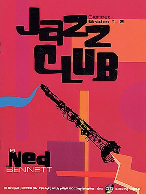JAZZ CLUB CLARINET GR 1-2 BK/CD