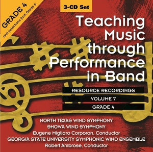 TEACHING MUSIC THROUGH PERF BAND CD V7 GR 4 & 5