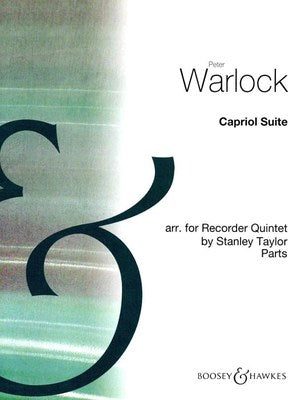 CAPRIOL SUITE RECORDER QUINTET PARTS
