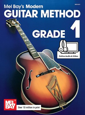 MODERN GUITAR METHOD GR 1 BK/OLA/OLV