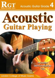 RGT ACOUSTIC GUITAR PLAYING GR 4 BK/CD