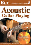 RGT ACOUSTIC GUITAR PLAYING GR 8 BK/CD