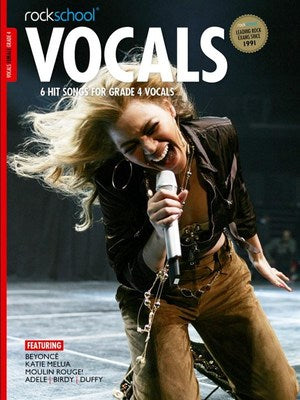 ROCKSCHOOL VOCALS GR 4 FEMALE 2014-20 BK/OLA