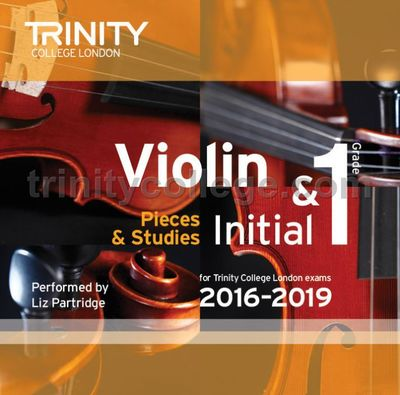 VIOLIN EXAM PIECES 2016-19 INITIAL-GR 1 CD