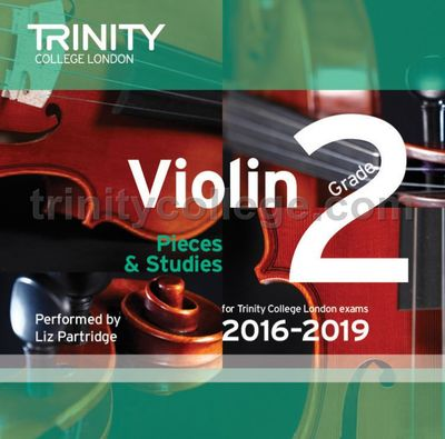 VIOLIN EXAM PIECES 2016-19 GR 2 CD