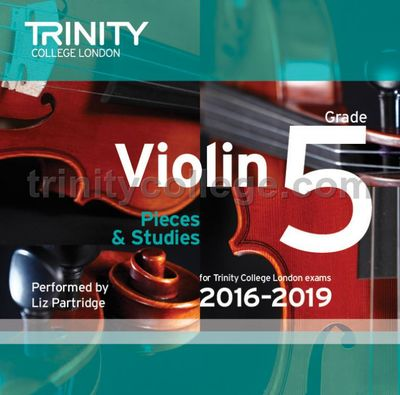 VIOLIN EXAM PIECES 2016-19 GR 5 CD