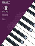 PIANO PIECES & EXERCISES GR 8 2018-2020 BK/CD