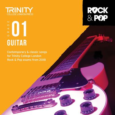TRINITY ROCK & POP GUITAR GR 1 CD 2018