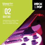 TRINITY ROCK & POP GUITAR GR 2 CD 2018