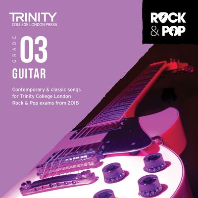 TRINITY ROCK & POP GUITAR GR 3 CD 2018