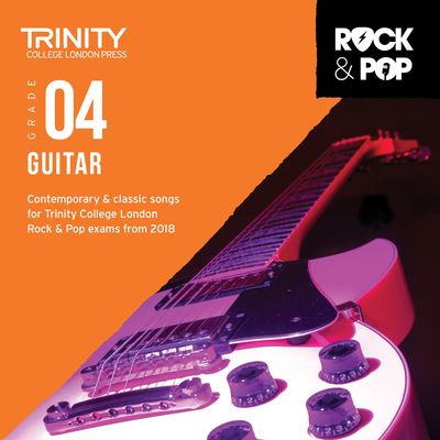 TRINITY ROCK & POP GUITAR GR 4 CD 2018