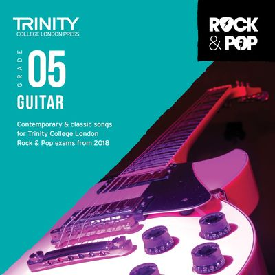 TRINITY ROCK & POP GUITAR GR 5 CD 2018