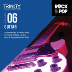 TRINITY ROCK & POP GUITAR GR 6 CD 2018