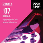 TRINITY ROCK & POP GUITAR GR 7 CD 2018