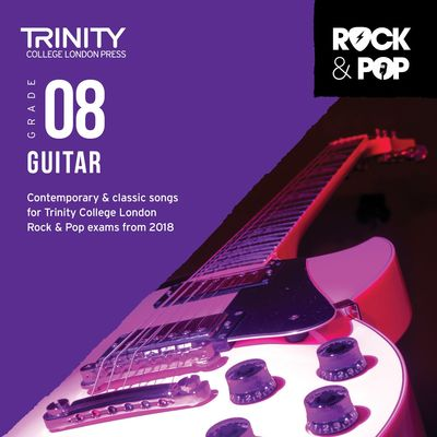 TRINITY ROCK & POP GUITAR GR 8 CD 2018