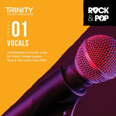 TRINITY ROCK & POP VOCALS GR 1 CD 2018