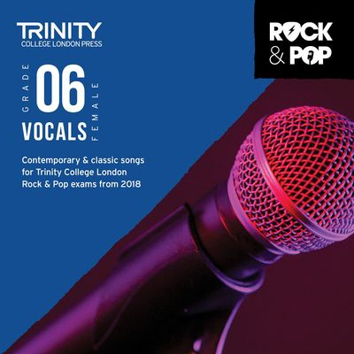 TRINITY ROCK & POP FEMALE VOCALS GR 6 CD 2018