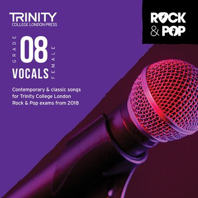 TRINITY ROCK & POP FEMALE VOCALS GR 8 CD 2018