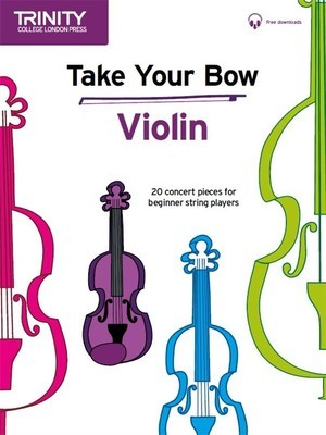 TAKE YOUR BOW VIOLIN/PIANO BK/OLA