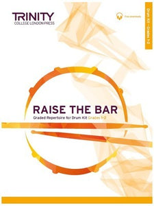 RAISE THE BAR DRUM KIT GRADES 1-2 BK/OLA