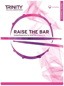 RAISE THE BAR DRUM KIT GRADES 6-8 BK/OLA