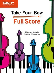 TAKE YOUR BOW FULL SCORE