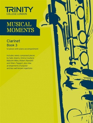 MUSICAL MOMENTS CLARINET BK 3 CLA/PNO