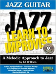 JAZZ GUITAR LEARN TO IMPROVISE BK/CD