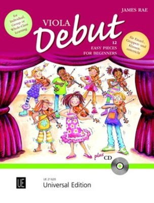 VIOLA DEBUT PUPILS BOOK BK/CD