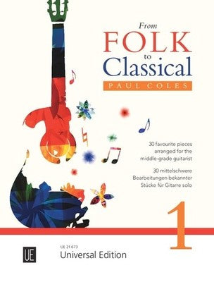 FROM FOLK TO CLASSICAL 1 GUITAR COLLECTION