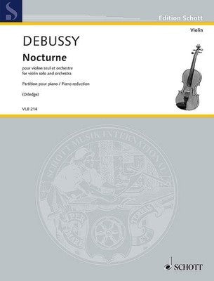 DEBUSSY - NOCTURNE FOR VIOLIN/PIANO