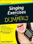 SINGING EXERCISES FOR DUMMIES BK/CD