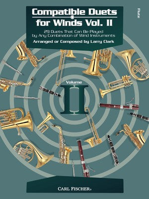COMPATIBLE DUETS FOR WINDS VOL 2 FLUTE
