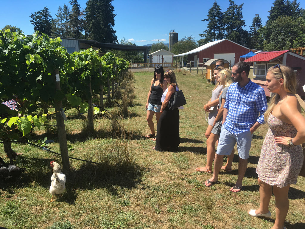 Cowichan Valley Wineries - Unsworth Winery