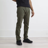Raleigh Denim : Martin Stretch : Dark Moss - dapperdirect
