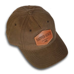 Dapper Gents Brown Hat With Leather Patch