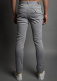 Descendant of Thieves : RANSOM FIT: GREY 2-TONE TROUSER - dapperdirect