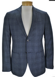 JKT : New York Trent Tonal Plaid Wool Blazer - dapperdirect