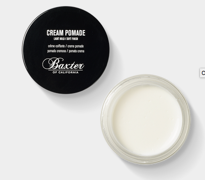Baxter : Cream Pomade - dapperdirect