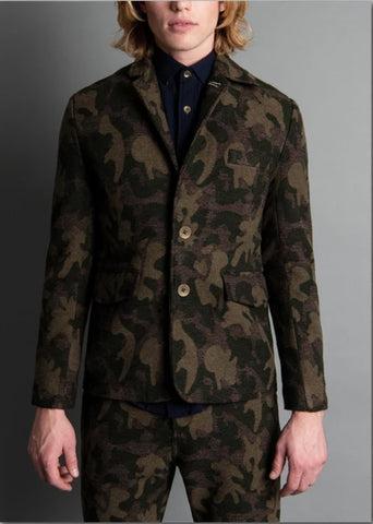 Descendant of Thieves: Army Time Jacket : Camo - dapperdirect