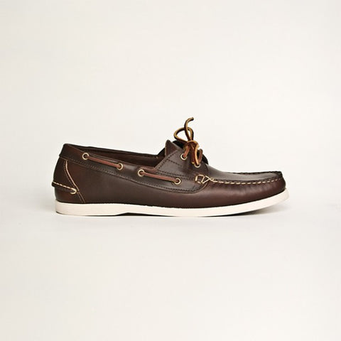 Oak Street Bootmakers : Brown Boat Shoe - dapperdirect