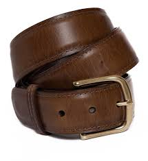Moore & Giles : Brompton Brown Belt - dapperdirect