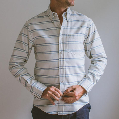 Raleigh Denim : Winter Stripe - dapperdirect