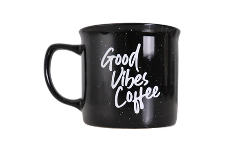 Nalu Brew Good Vibes Coffee Black Coffee Mug