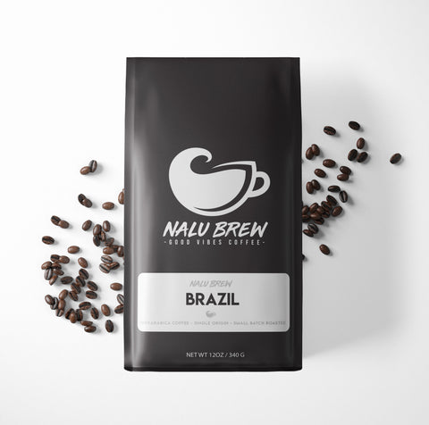 Nalu Brew Brazil - Single Origin Coffee