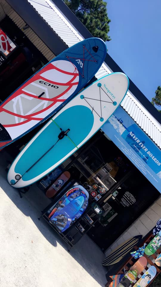 Opening of Never Ever Boards Retail Store