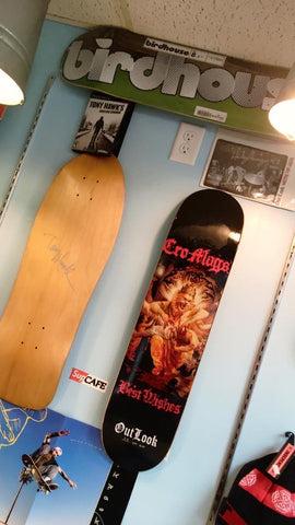 Signed Tony Hawk Deck