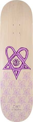 "8.5"" Element Bam Heartagram Skateboard Complete"