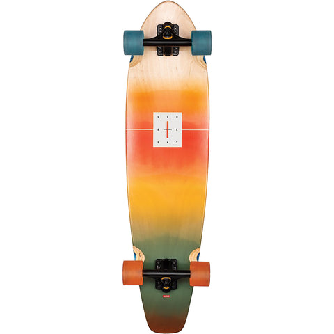 "9"" x 35.87"" Globe The All Time Omabre Longboard Complete"