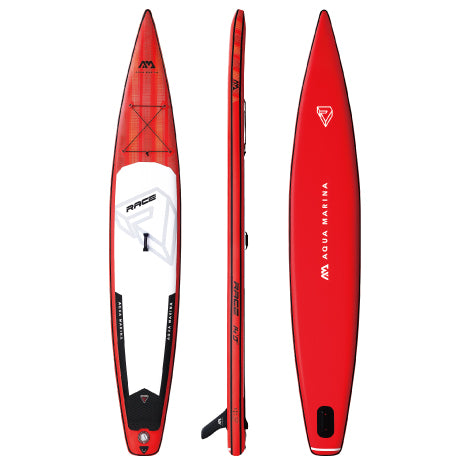 14' Aqua Marina Inflatable Racing Paddle Board (SUP)